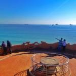 El mar del Sardinero a vista de pájaro