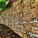 La pared de las palabras