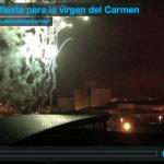 Fin de fiesta para la virgen del Carmen