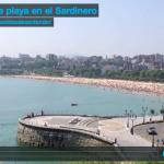 Vida de playa en el Sardinero