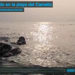Nadando en la playa del Camello