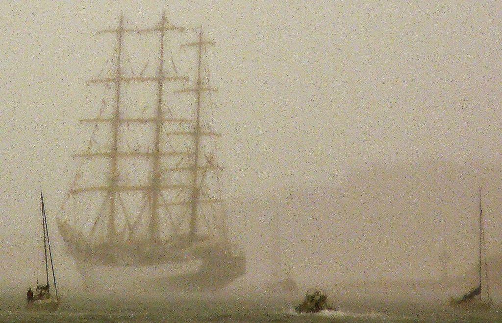 'Goleta por la bahía'. Autor: Bonnie Bardowski