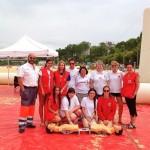 Voluntarios de Cruz Roja te ayudan en el Sardinero a que este verano te quieras mucho