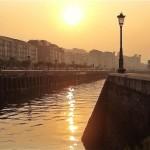 La farola más famosa de Santander