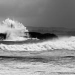 'Rompiendo las olas'. Autor: Francisco José Saiz