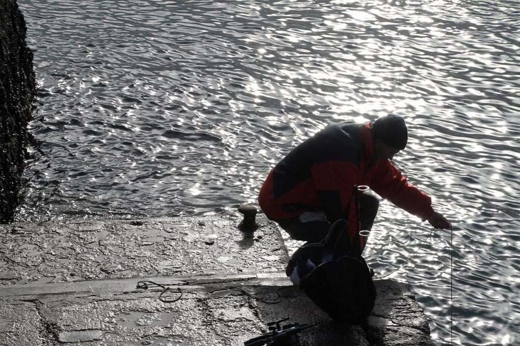 'Pescando con mediomundo'. Autor: Jesús Eliseo Baquero