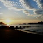 'Embarcadero. Un bonito amanecer desde la Playa de La Magdalena. Autor: José Luis García Fernández