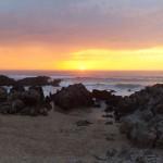'Ocaso cantábrico'. La segunda es una puesta de sol en Liencres, a pesar de ser un día nublado es una experiencia inolvidable. Autor: José Luis García García