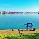 La silla de pescador