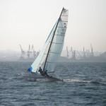 Loles Rubio con 'Navegando la bahía', ganadora del día 12 de julio