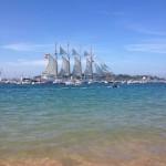 'Juan Sebastian de Elcano se despide de Santander'. Autora: Natalia Diez
