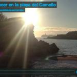 Amanecer en la playa del Camello