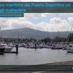El tráfico marítimo del Puerto Deportivo un domingo cualquiera