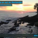 Así sale el sol en Santander