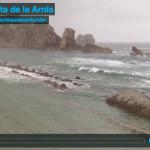 La costa de la Arnía