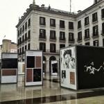 Ataulfo Argenta en la plaza Porticada