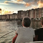 La bahía de Santander a bordo del Andarica