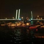 Los 273 metros del puente levadizo de Raos