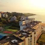 Las vistas del edifico más alto de Santander