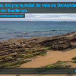 Regatas del premundial de vela de Santander en aguas del Sardinero
