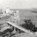 La peña de la playa del Camello tuvo de inquilinos a los prácticos del puerto