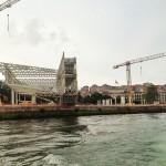 El Centro Botín desde la bahía