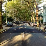 Menéndez Pelayo, una calle con mucha sombra