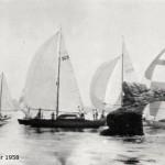Navegando junto a la Horadada en 1958