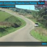 Cabezón-Comillas-Trasvía-La Rabia. Sube
