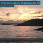 La isla de Mouro espera la llegada del día