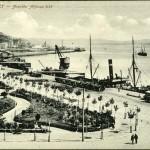La bahía de Santander y la avenida de Alfonso XII en 1906