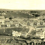 El hospital Marqués de Valdecilla en plena construcción allá por los años 20