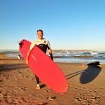 """Jesús Fiochi: """"La sensación de ingravidez y la adrenalina es lo que engancha del surf"""""""