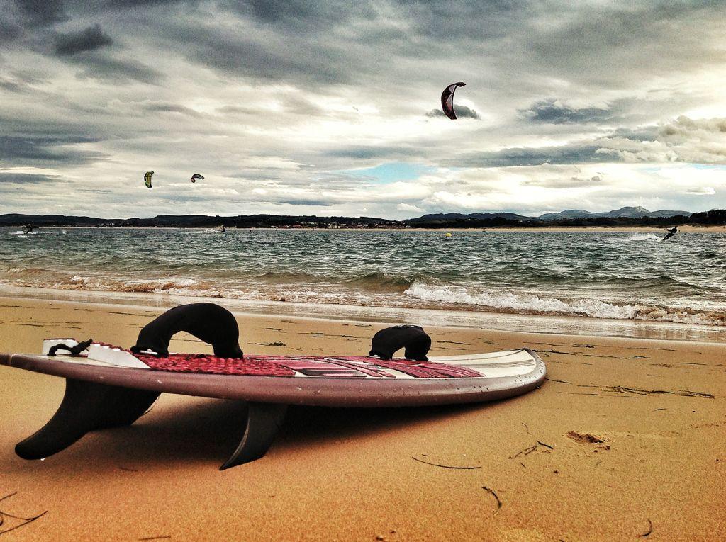 kite-surf-bahia-de-santander-tabla