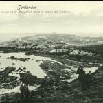 La península de la Magdalena y la playa del Camello irreconocibles en 1905