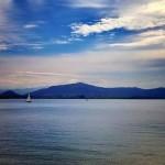 Maravillosa tarde otoñal en la bahía de Santander