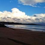 Torrecúmulos recorren la costa de Cabo Mayor