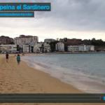 El sur peina el Sardinero