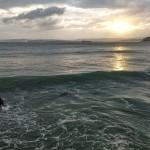 Domingo en el agua desde el amanecer