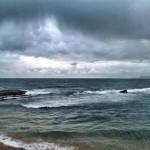 Nubes que amenazan con agua