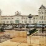 El casino del Sardinero pasado por agua