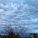 El cielo de Liencres, recién salido de la paleta de un pintor