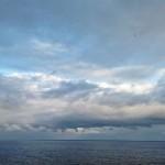 Cuando miro el azul horizonte…