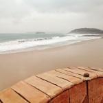 El temporal plancha las playas del Sardinero
