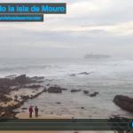 Mirando la isla de Mouro