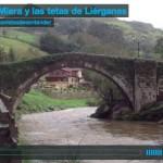 El río Miera y las tetas de Liérganes