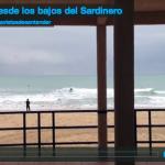 Surf desde los bajos del Sardinero