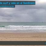 Tarde de surf y vela en el Sardinero