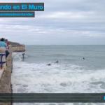 Surfeando en El Muro