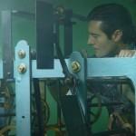 Carlos Herrero pone en hora los relojes monumentales de Santander